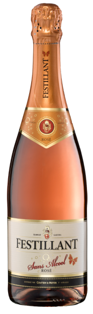 Vin sans alcool Festillant Rosé